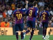 فيديو.. هدفان وطرد وإنقاذ تاريخى فى تعادل برشلونة وجيرونا بشوط مثير