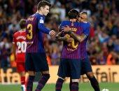 فيديو.. برشلونة بعشرة لاعبين يتعادل مع جيرونا ويشعل صراع صدارة الليجا