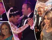 15 صورة من حفل زفاف ياسر طارق عامر وليلى سامح صدقى
