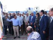 رئيس الوزراء يتفقد مشروع مدينة ناصر بأسيوط