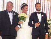 فيديو وصور جديدة من حفل زفاف ياسر طارق عامر وليلى سامح صدقى