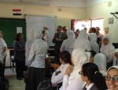 صور .. محافظ الفيوم يتفقد عددا من المدارس لمتابعة انتظام العملية التعليمية