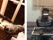 فى حملة أمنية: ضبط 215 قطعة سلاح نارى 293 قضية مواد مخدرة