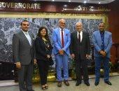 صور.. محافظ الأقصر يستقبل ممثل صندوق الأمم المتحدة للسكان