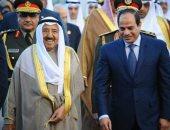 الرئيس السيسى يدعو أمير الكويت للمشاركة فى منتدى شباب العالم