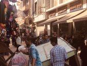 رفع 102 حالة إشغال وتحرير ٩٢ محضر فى حملة لشرطة المرافق بالمحلة