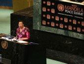 فيديو.. زوجة مانديلا لزعماء العالم: أرجوكم لا تجعلوا الأمم المتحدة مكانا للثرثرة
