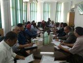 جامعة أسوان تناقش الخطة الشاملة للأنشطة الطلابية