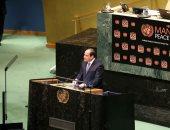 الرئيس السيسى: علينا جميعا التضامن والتعاون الصادق من أجل دحر الإرهاب