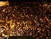 صور.. أنصار مرشح المعارضة المالديفية يحتفلون بفوزه فى الانتخابات الرئاسية