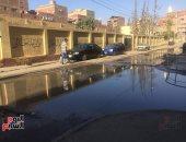 صور.. الإسماعيلية تغرق فى مياه الصرف والقمامة تغزو الشوارع