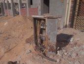 """المتهمان بسرقة كابلات الكهرباء بالطالبية: """"نبيعها لتجار الخردة بالكيلو"""""""