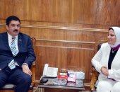 محافظ القليوبية يستقبل الرئيس الإقليمى للثقافة بالقاهرة الكبرى وشمال الصعيد