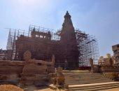 وزير الآثار يتفقد أعمال ترميم قصر البارون