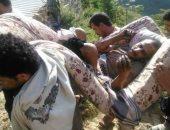 تجدد انتهاكات الحوثى بحق اليمنيين.. الميليشيا تأسر جريحا بعد تفجير منزله