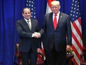 صفحة الرئيس تنشر صورة لقاءه بترامب.. السيسى: شرف لى لقاء شخصية عظيمة