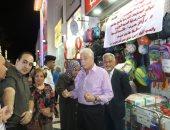 """صور.. محافظ جنوب سيناء يتفقد الأسواق ومبادرة """"كلنا واحد"""" لتوفير الأدوات المدرسية"""