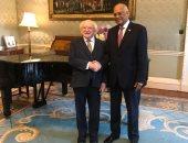رئيس أيرلندا: حريصون على تعميق علاقاتنا بمصر.. وعبد العال يدعوه للاستثمار.. صور