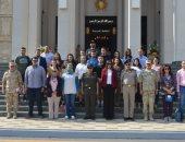 دورة فى الأمن القومى وزيارة للكلية الحربية لوفد أبناء المصريين باستراليا