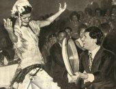 """قصة صورة.. نجوى فؤاد ترقص على دقات """"طبلة"""" العندليب عبد الحليم حافظ"""