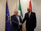 عبد العال يطالب أيرلندا بمواصلة دعمها للقضية الفلسطينية فى إطار القانون الدولى