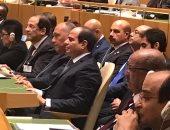 مصادر: كلمة السيسى تتضمن مبادئ ثلاثة خاصة بالأمم المتحدة