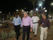 صور.. محافظ جنوب سيناء بجولة تفقدية لقصر ثقافة شرم الشيخ استعدادا لافتتاحه