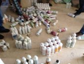 صور.. ضبط 830 عبوة أدوية بيطرية منتهية الصلاحية فى كفر الشيخ
