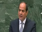 الرئيس السيسى: مصر تدعم الحل السياسى فى سوريا واليمن