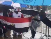 أسامة كمال: المصريون يحتفلون بالرئيس السيسى رغم سقوط الأمطار الشديدة