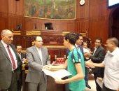 صور.. الأمانة العامة للبرلمان تنظم حفل تكريم للمتفوقين من أبناء العاملين