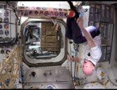 """الجاذبية بتفرق.. أول مباراة """"تنس"""" فى الفضاء.. فيديو وصور"""