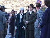 """شاهد الصور الأولى لميشال دوكرى خلال تصوير مشاهد """"Downton Abbey """""""
