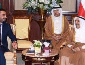 """أمير الكويت يبحث مع رئيس """"البرلمان العراقى"""" العلاقات الثنائية بين البلدين"""