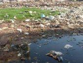 كارثة إنسانية.. قرية أبودرة بالبحيرة تعوم على مياه الصرف
