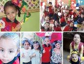 """قراء """"اليوم السابع"""" يشاركون صور أبنائهم بالزى المدرسى لليوم الخامس"""