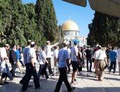 مئات المستوطنين يقتحمون المسجد الأقصى ويؤدون صلوات تلمودية