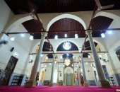 افتتاح مسجد إنجا هانم بمنطقة محرم بك بالإسكندرية بعد ترميمه (صور)