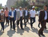 محافظ الجيزة: تطوير شارع الأهرام ورفع 2500 طن مخلفات من امتداد اللبينى