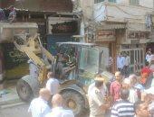 صور.. إزالة 450 حالة إشغالات وتحرير 3750 مخالفة مرورية فى كفر الشيخ