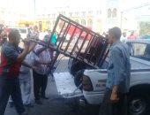 630 إزالة إدارية و152 محضرا خلال حملات رفع الإشغالات بأحياء العاصمة