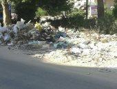 قارئ يشكو من تراكم تلال القمامة فى شوارع مساكن النهضة