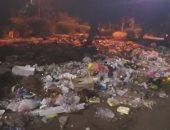 قارئ يشكو من انتشار القمامة بشارع إبراهيم الرفاعى فى مدينة نصر
