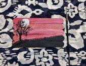 قارئة تشارك بلوحات فنية رسمتها بالرصاص والماندلا