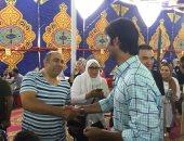 صور.. الفنان محسن منصور يسجل فى عمومية اللائحة بالأهلى