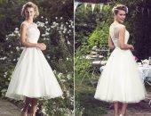 كل ما تحتاجين معرفته عن اختيار فساتين زفاف متوسطة الطول