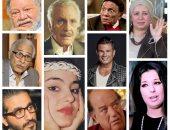 10 نجوم نادر ظهورهم الإعلامى.. عبلة كامل ومحمود مرسى ونجاة الصغيرة الأبرز