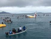 فقدان أحد ركاب الطائرة الغارقة فى بحيرة بميكرونيزيا