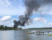 """تحطم طائرة عسكرية روسية من طراز """"إل 39"""" جنوب البلاد"""