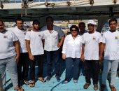 صور.. الخارجية تعلن وصول الصيادين المحتجزين مقر السفارة المصرية فى قبرص